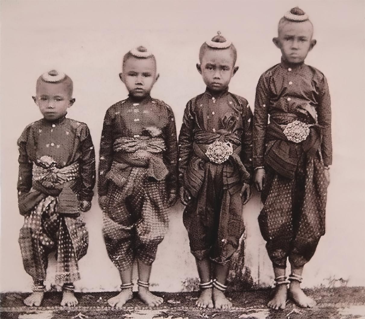 Thai Style Studio 1984 ทรงผมเด็กไทยในสมัยโบราณ / ความเชื่อกับทรงผม 1