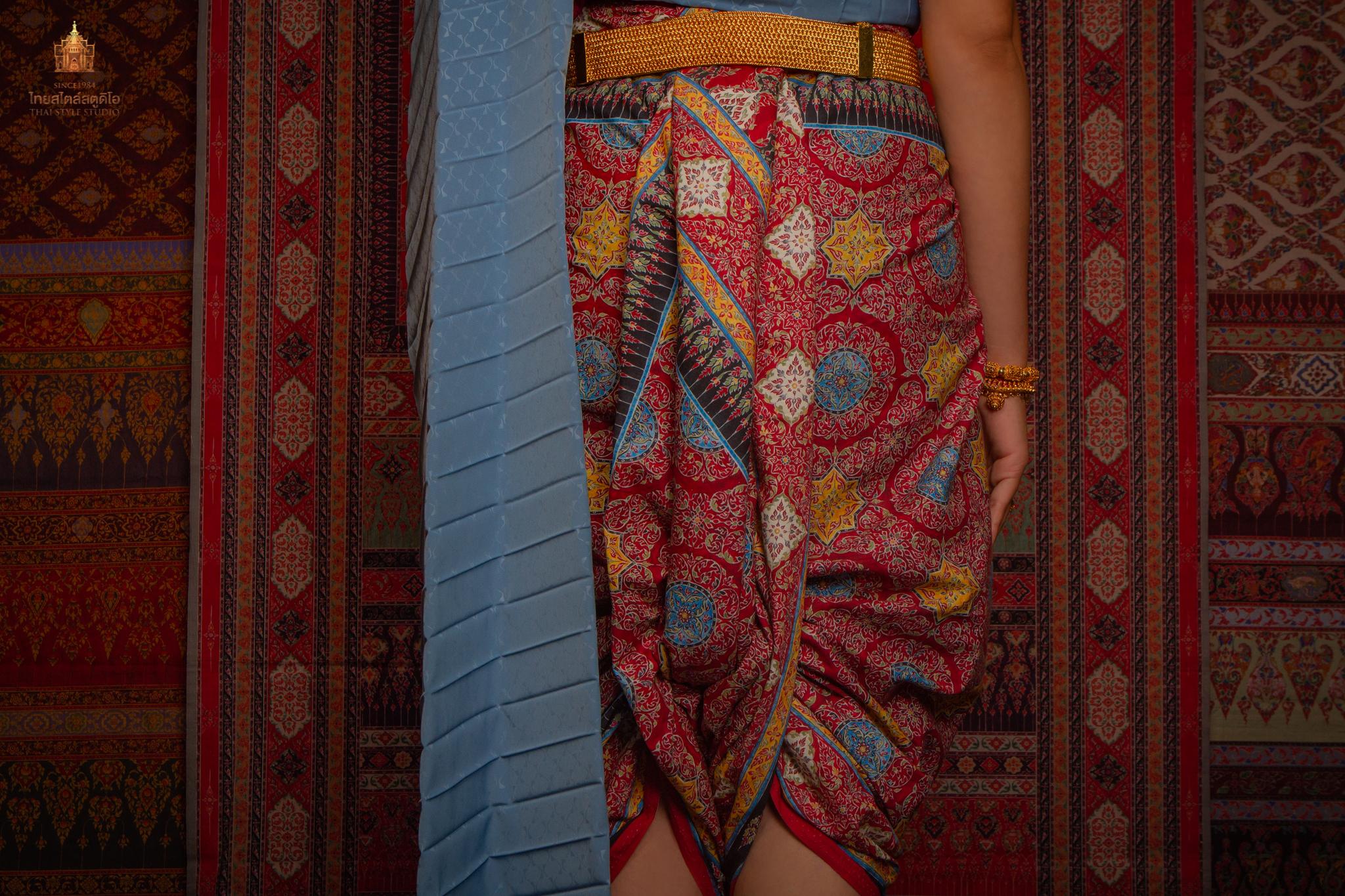 Thai Style Studio 1984 การนุ่งโจงกระเบน 25