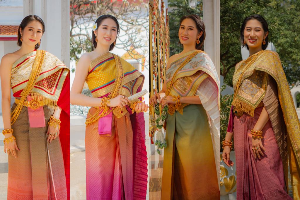 Thai Style Studio 1984 สร้างแรงบันดาลใจไปวัด กับชุดไทยหลากสี colorful 5