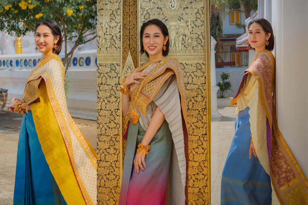 Thai Style Studio 1984 สร้างแรงบันดาลใจไปวัด กับชุดไทยหลากสี colorful 7