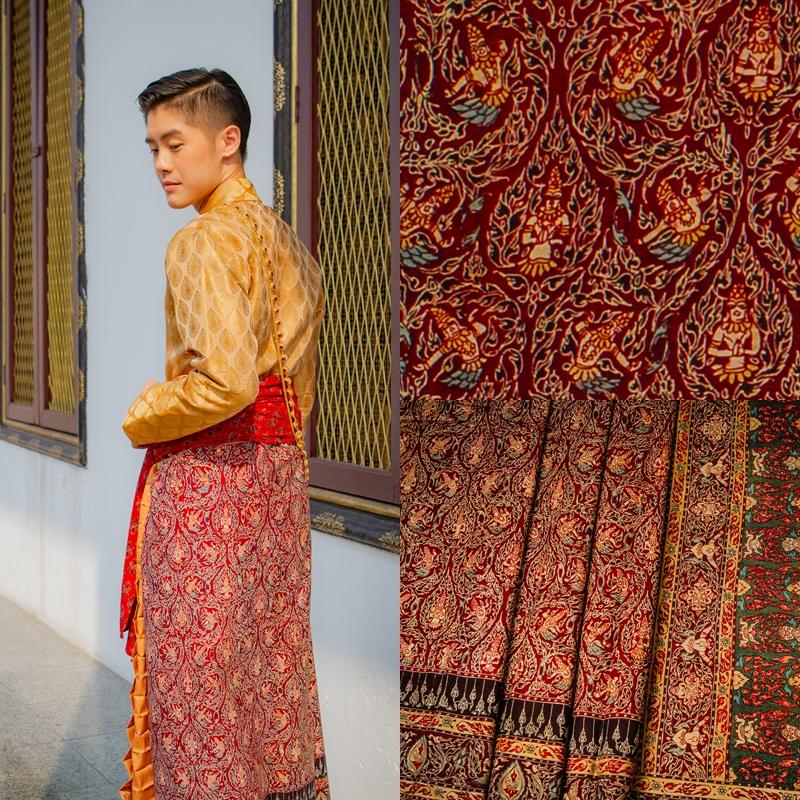 Thai Style Studio 1984 ชุดไทยกับผ้าลายอย่าง (Siamese chintz) 41
