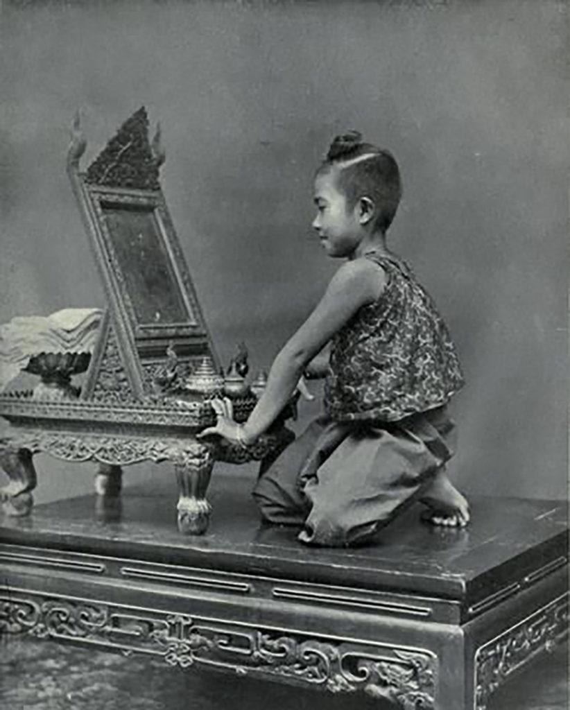Thai Style Studio 1984 คันฉ่อง กระจกเงาโบราณ 13
