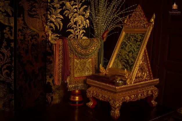 Thai Style Studio 1984 คันฉ่อง กระจกเงาโบราณ 3
