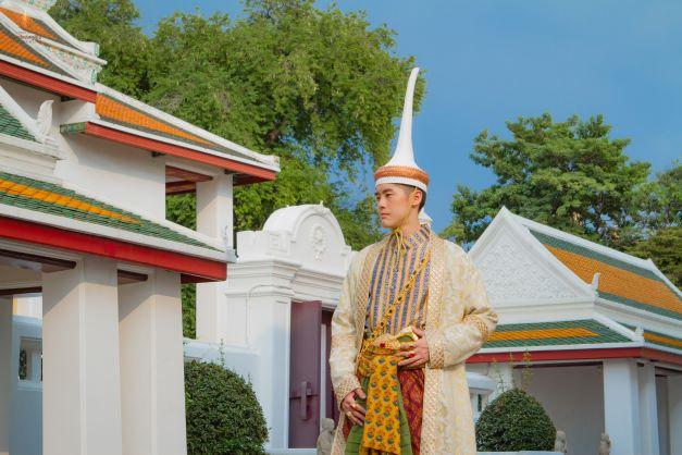 Thai Style Studio 1984 Thai royal court gown 9