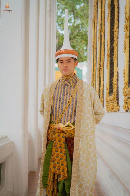 Thai Style Studio 1984 Thai royal court gown 7